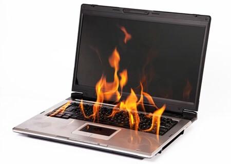 Перегрев ноутбука не влияет на его работоспособность