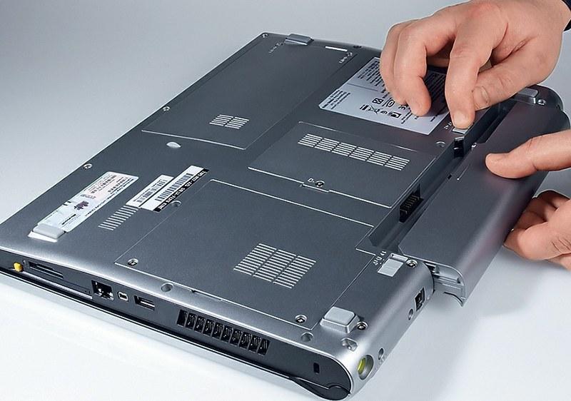 Ремонт, замена батареи (аккумулятора) ноутбука