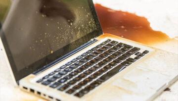 Ремонт залитых ноутбуков в Праге